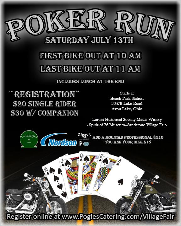 Poker Run Pogie S Catering